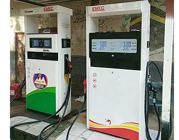China Mobile Fuel Filling Container Petrol Station for